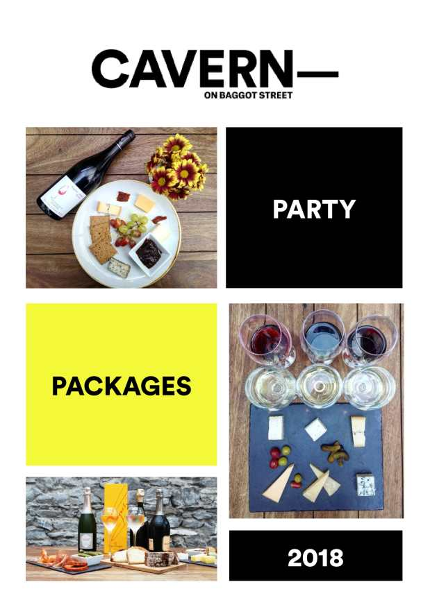 Party packages 2018-1